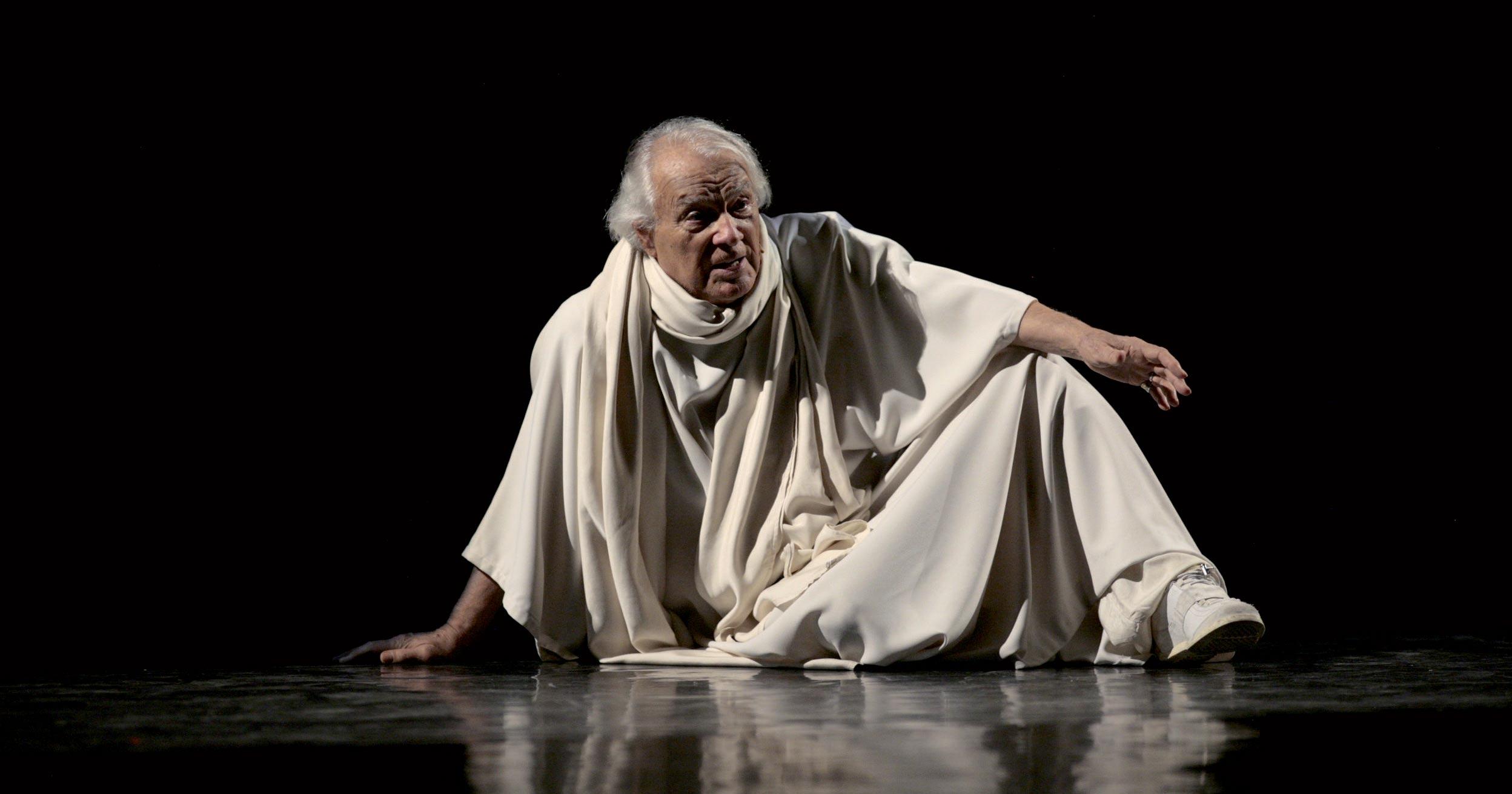 giorgio albertazzi sul palco